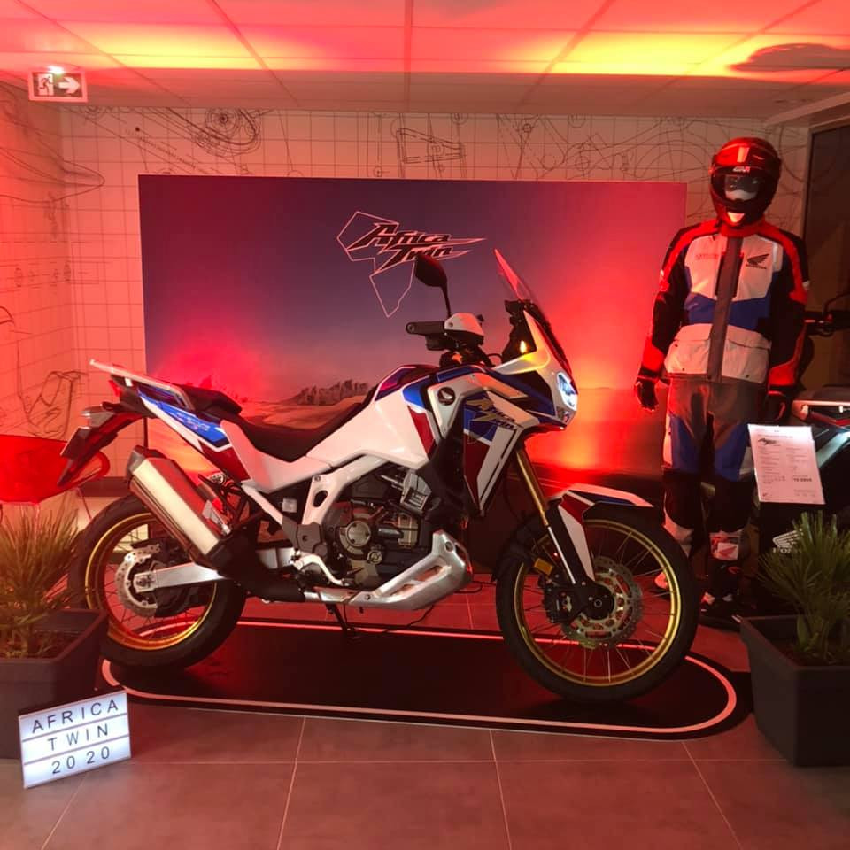 Lancement Africa Twin 2020